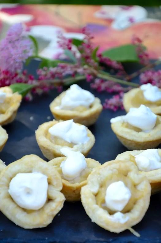 Maple Cream Tartlets