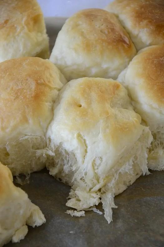 Bread Machine Sweetened Condensed Milk Dinner Rolls