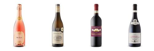 Four bottles of wine from Feb 6, 2021 LCBO Vintages release.