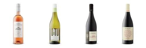 4 bottles of wine chosen fromApril 3 2021 LCBO vintages Release.