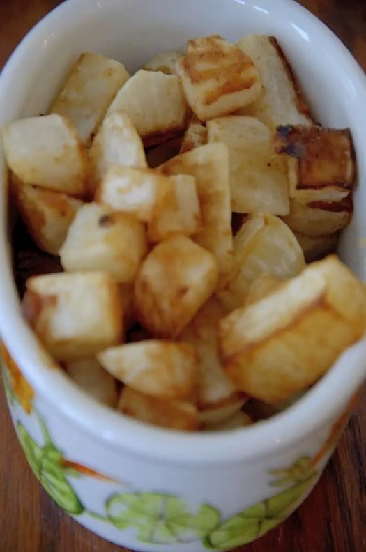 Crispy FriedTurnips