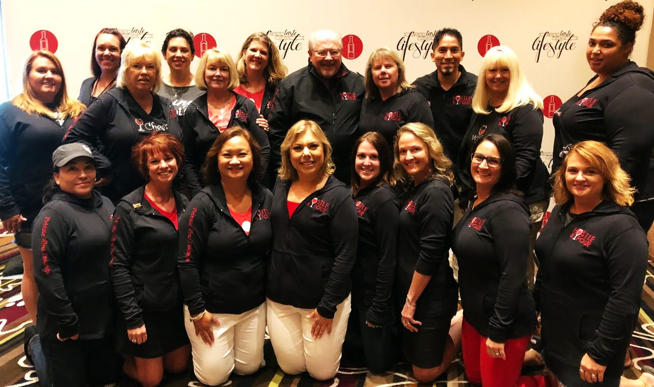 2018 Wine Camp Jackets Team