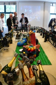 """The """"main stage"""" over 100 wines on tasting"""