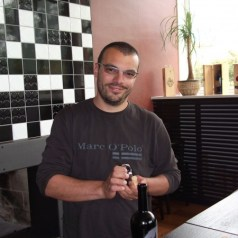 Bruno Trapan and his eclectic new tasting room- more wine from Croatia