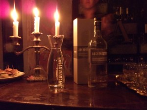 Auchentoshan by candlelight