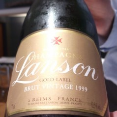 Lanson Gold Label 1999