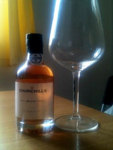 mini bottle of white port