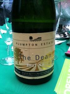 Plumpton College sparkling wine