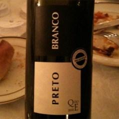 Preto Branco 2010, Portuguese red wine