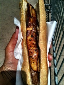 the foie gras baguette