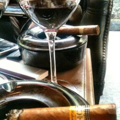 Cigars and red wine, they may not be a classic pairing but…
