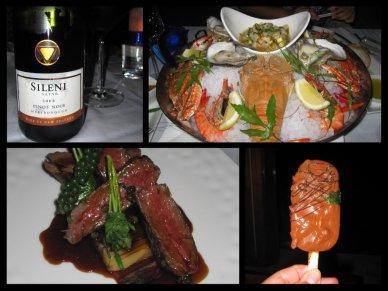 dinner at Pla Pla