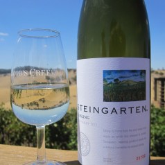 Steingarten riesling and Jacob's Creek Visitor's Centre