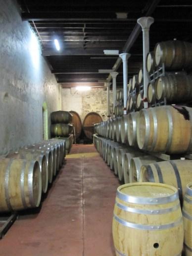 barrels waiting