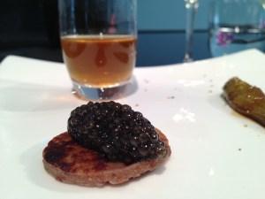 caviar, the perfect companion for DP