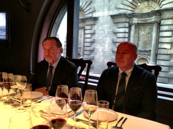 Michel Rolland and Javier Galarreta