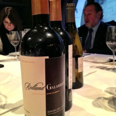 Michel Rolland in town for the launch of Rolland & Galarreta wines