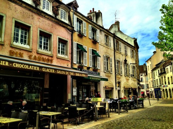 bistro on the Place Carnot