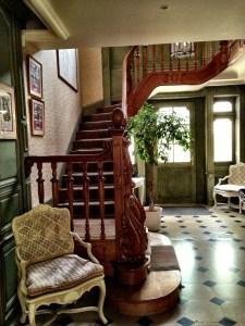 staircase, Billecart-Salmon house