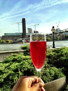 Chamberry Mead cocktail and the Tate Modern