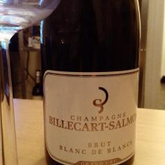 I'm starting off Christmas Day with Billecart-Salmon brut blanc de blanc