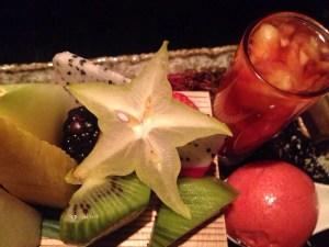fresh fruit Dessert platter