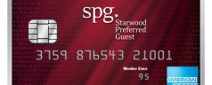Being an American Express Starwood Preferred Guest Credit Cardmember