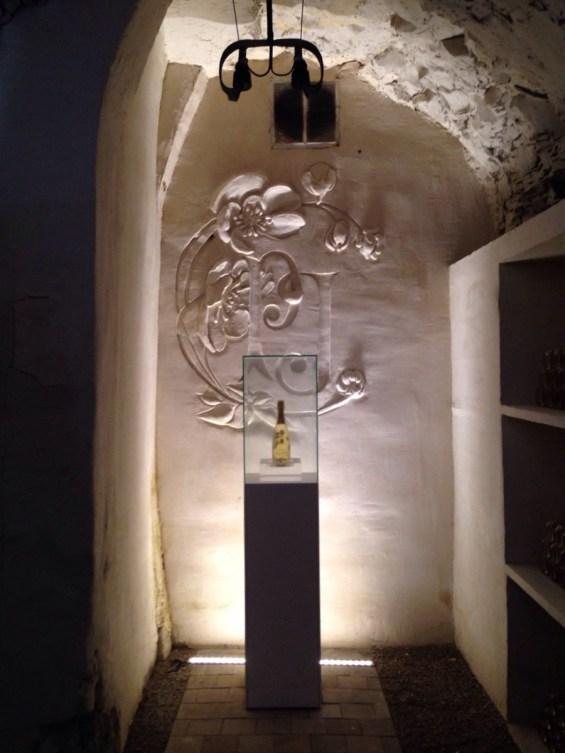 Belle Epoque Blanc de blanc in the cellar