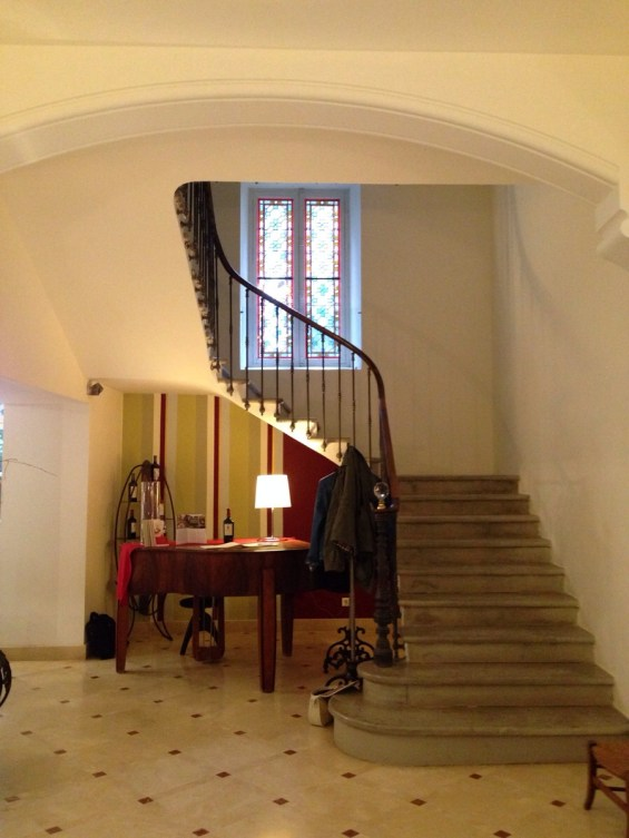 interior of Haut-Gleon