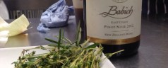 Cooking with Babich Wines