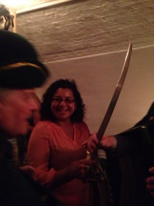 the winesleuth and her sabre
