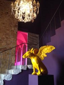 interior Chateau Castigno