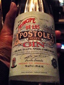 Argentine Gin, only at Gaucho