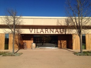 Vilarnau winery entrance