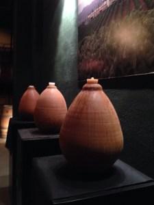 amphora for fermenting xarello