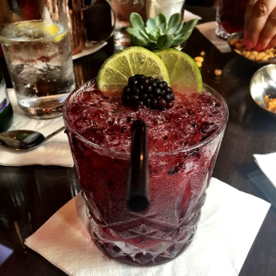 Berry Crush cocktail at the Royal Horseguards Hotel