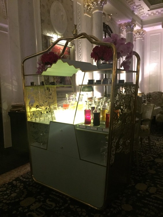 Drink Trolley at the Savoy Hotel London cocktails