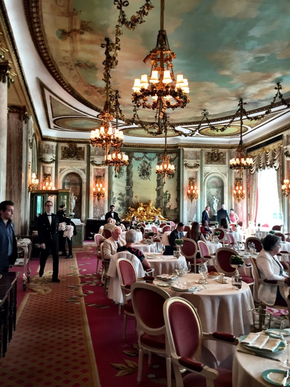 The Dining Room at The Ritz, London