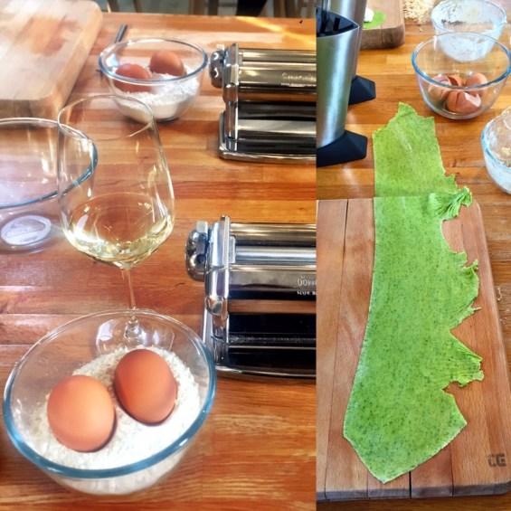 pasta making, recipe from Chef Danilo Cortellini, Italian Embassy, Masterchef Professionals