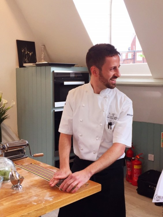Chef Danilo Cortellini, Italian Embassy, Masterchef Professionals