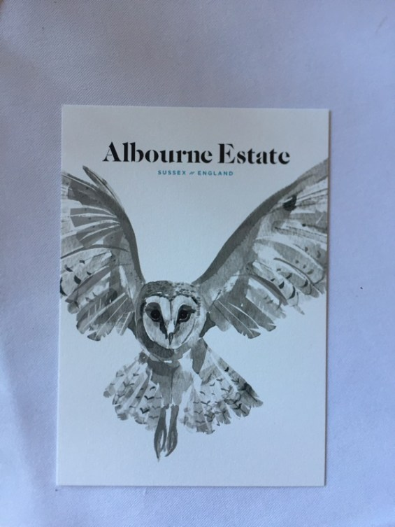 wine label, Albourne Estate, Sussex, England, English Vineyard