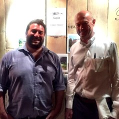 Charity lunch at Vivat Bacchus with Kaapzicht Wines and the Pebbles Project