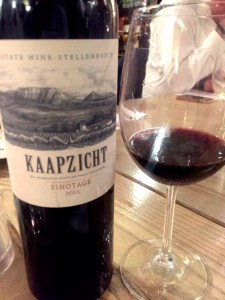 Kaapzicth Estate 2015 Pinotage, South Africa wine at Vivat Bacchus, London