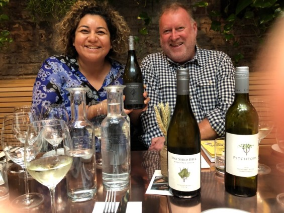 The Wine Sleuth and Michael Kerrigan