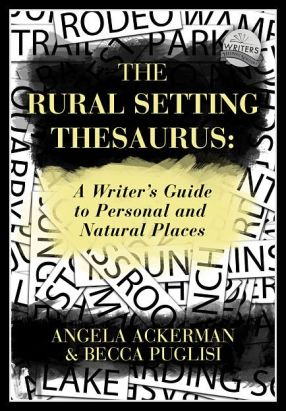 Book covers for The Urban Setting Thesaurus and The Rural Setting Thesaurus