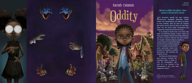 Full Book Jacket for Oddity