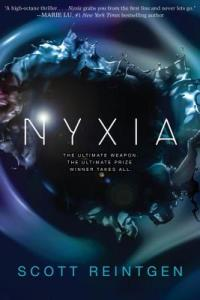 Nyxia, CYBILS, YA speculative fiction, YA books