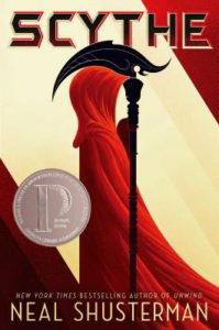 Scythe, CYBILS, YA books, speculative fiction, book review