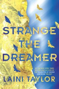 Strange the Dreamer, CYBILS, YA books, speculative fiction, book review