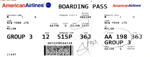 Why You Shouldn't Post Your Boarding Pass on Social Media